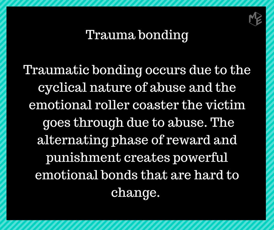 Traumaperäinen tunneside