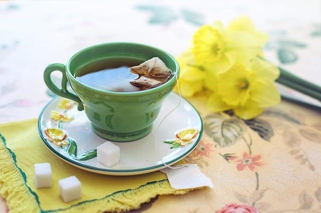 Drink green tea. Image: Pixabay